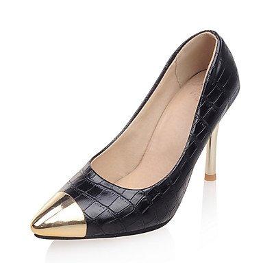 Zormey Frauen Heels Frühling Sommer Club Schuhe Formelle Schuhe Kunstleder Hochzeit Party & Amp; Abendkleid Stiletto Heel Toe Metallic US5 / EU35 / UK3 / CN34