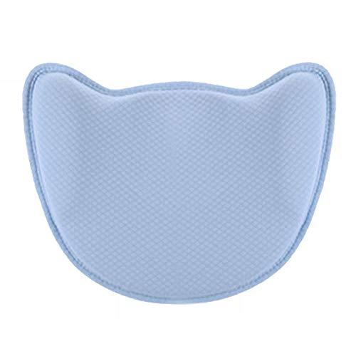 Babykissen Vermeidung Von Kopfverformung Babykopfkissen Vorsorge Der Plagiozephalie Kinderkissen Memory Schaum Baby Pillow Anti-Allergen Baby Pillow (0-24 Monate) -