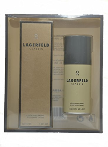 Karl Lagerfeld Classic Set - After Shave Lotion 100ml + Deodorant Spray 150ml