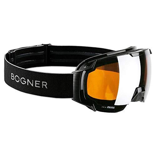 Bogner Snow Goggles Just B Bamboo Edition   Schwarz   Ski & Snowboard Brille   Hochwertige Qualität