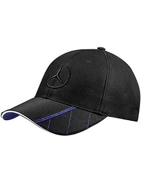 Mercedes-Benz Cap Herren schwarz / blau, / 100% Baumwolle