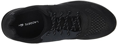 Lacoste Frnt Runner 118 1 Spm, Sneaker Uomo Nero (Blk/dk Gry)
