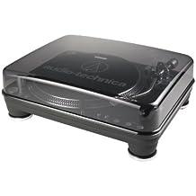 Audio-Technica DJ Direct-Drive - Tocadiscos (Corriente alterna, Windows XP + Mac OS X +, Negro, Metal, Corriente alterna, Audio (3.5mm), RCA, USB)