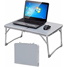 Yahee Laptoptisch Betttisch Notebooktisch Falttisch Arbeitstisch Laptop Ständer 62 cm x 41 cm x 28 cm