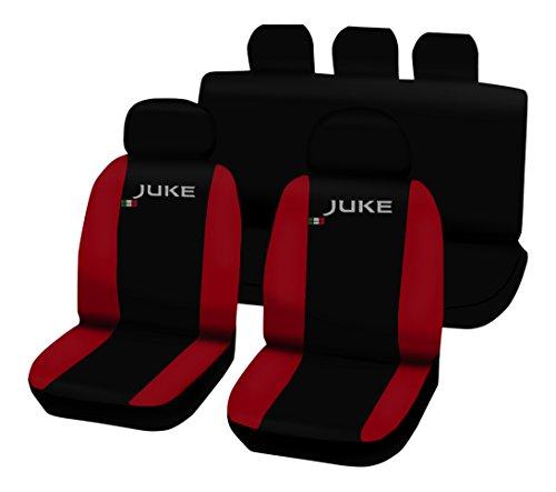 Lupex Shop Juke_N.R Coprisedili Bicolore, Nero/Rosso