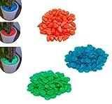Fair Sassolini Luminosi Pack 100 pz Pietre Fluorescenti Decorazione Acquario Giardino Esterno 3 Colori