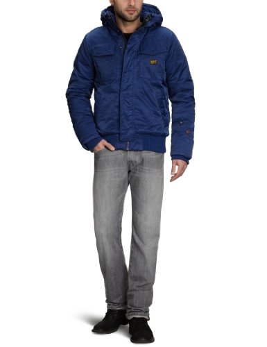 G-STAR Men's Field Hooded Bomber Jacket Mfd