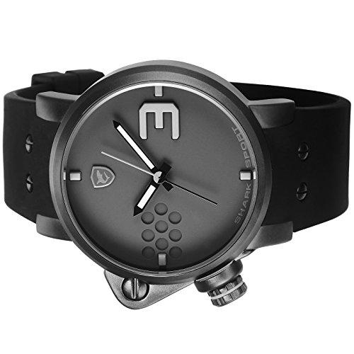 Shark-SH518-Reloj-Caballero-Cuarzo-Deportivo-de-Silicona-Negro