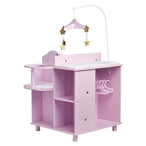 Olivia's Little World Table à Langer pour Poupon, TD-0203AP