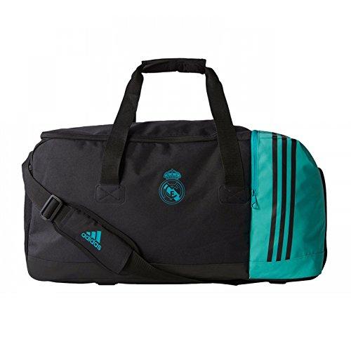 adidas Real Teambag M Mochila, Unisex Adulto, (Negro/arraer), M