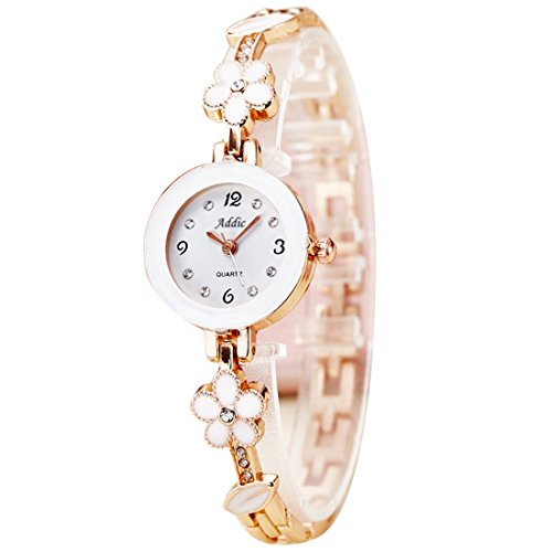 Addic Analogue White Dial Girl's & Women's Watch(Addicww466A)
