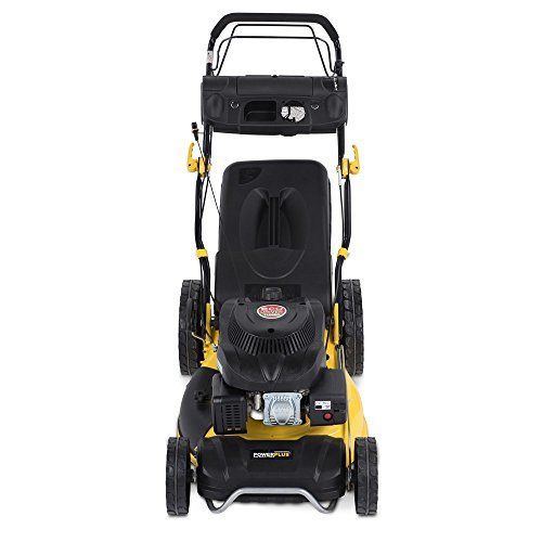 "PowerPlus 20"" (508mm) Self-Propelled, 4 in 1 Cut, Cut & Collect, Mulch, Side Discharge, 196cc Petrol Lawn Mower POWXG60225-3 Year Home User Warranty"