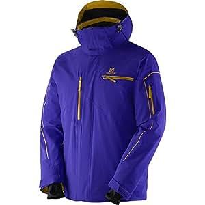 Salomon - SALOMON - Veste Ski Homme - Brillant Jacket M Bleu - tailles: M