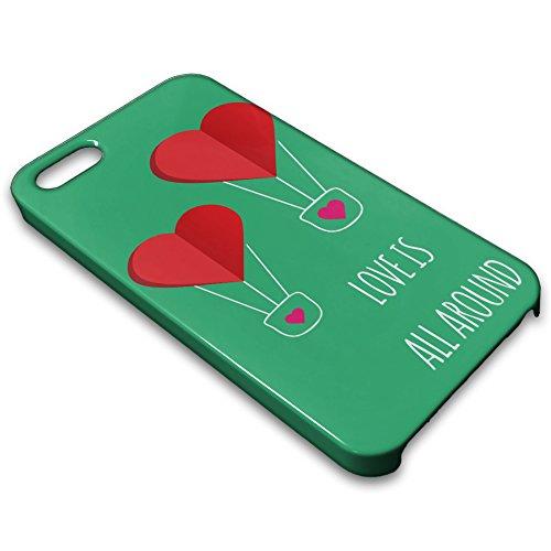 farmygadget Coque Case Étui Impression Complète type Love pour Smartphone Apple 00018e