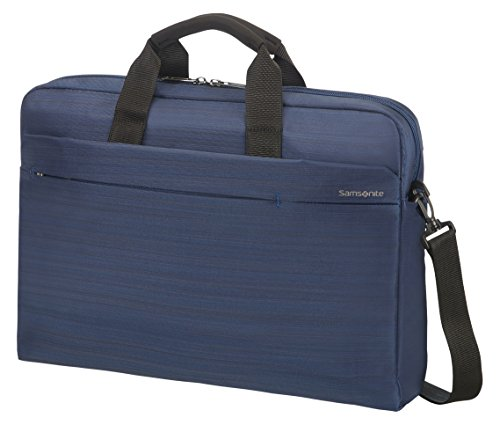 "Samsonite Network 2 SP Maletín para Portátil, 15""-16"", 44 cm, 12 L, Color Azul (Navy Blue)"