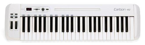 Samson Carbon 49 USB/MIDI Controller Masterkeyboard 49 Tasten inkl. Native Elements Software - Sehne Pad