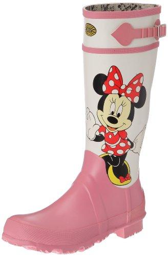 Rolser Unisex-Erwachsene Shopping Bag Flora Tasche mit Henkel, Blanco (918 Minnie White Pink), 42 (Erwachsene Disney Cartoons)