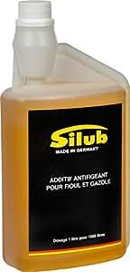 SILUB - Additif AntiGel pour Gazole (moteur diesel), GnR, Fioul (chaudière, ...) (1 L traite 1000 L de carburant ou fioul)