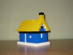 Q-Bricks Casetta Bloques de Construcción (143 Piezas, Multi-Color)