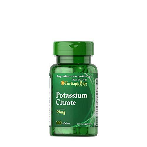 Puritan's Pride Potassium Citrate - 100 Tabletten