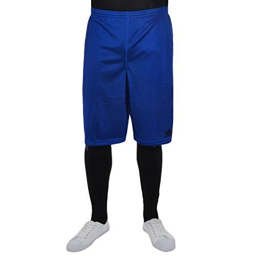 adidas Performance Techfit Puremotion - Herren Fußball Shorts mit Leggins - Blau/Schwarz - L
