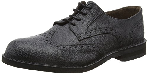 FLY London Idal903fly, Brogues Homme Noir (Black 010)