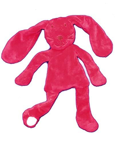 DPAM - Doudou Dpam lapin semi plat rose longues oreilles - 4923