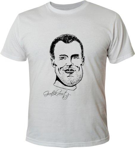 Mister Merchandise Herren Fan T-Shirt Kevin Großkreutz Weiß