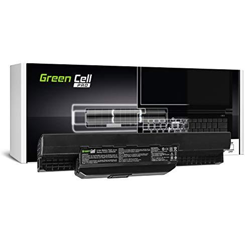 Green Cell® PRO Serie A32-K53 A41-K53 Batería para ASUS K53 K53E K53S K53SJ K53SV K53U X53 X53S X53SV X53U X54 X54C X54F X54H X54L Ordenador (Las Celdas Originales Samsung SDI, 6 Celdas, 5200mAh,)