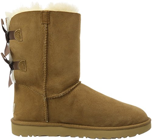 UGG Australia Bailey Bow, Scarpe a Collo Alto Donna Chestnut
