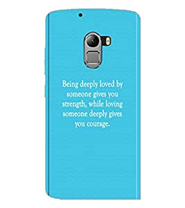 PrintDhaba Quote D-2912 Back Case Cover for LENOVO VIBE K4 NOTE (Multi-Coloured)