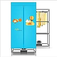 LHFJ Secadora De Ropa Máquina Compacta Ahorro De Energía Paño Secado Rápido Ultra Silencioso para El Hogar, Dormitorio