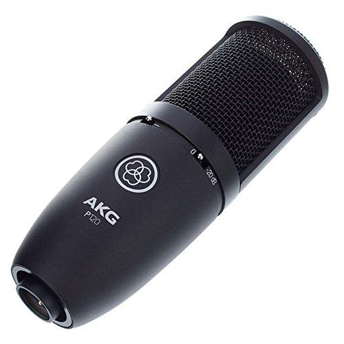 """AKG P120 microfono a condensatore con diaframma da 2/3"""" ideale per home studio"""