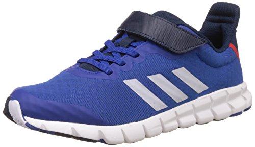 adidas Rapidaflex El K, Chaussures de Tennis Mixte Enfant Bleu (Reauni/ftwbla/maruni)