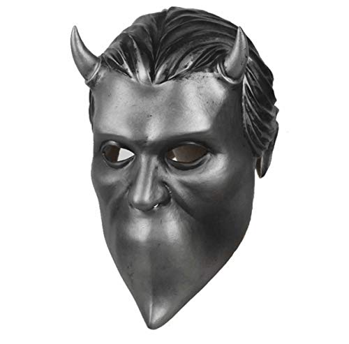 Halloween Maschere.Hcoser Ghost B C Nameless Ghoul Maschera Lattice Maschere Halloween Cosplay Festa Per Adulto