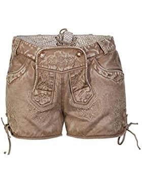 Marjo - Damen Trachten Lederhose, Turid Short (541400-020008)