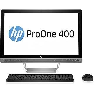 HP ProOne 440 G3 2RT64EA (23,8 Zoll Full HD IPS) All in One Desktop-PC (Intel Core i5-7500T, 8GB RAM, 256GB SSD, Intel HD Graphics 630, Windows 10 Pro) schwarz/silber