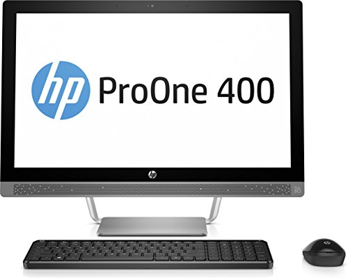 HP ProOne 440 G3 3ZD74EA (23,8 Zoll Full HD IPS) All in One Desktop-PC (Intel Core i3-7100T, 8GB RAM, 1TB HDD, Intel HD Graphics 630, Windows 10 Pro) schwarz/silber Widescreen-display Intel Core