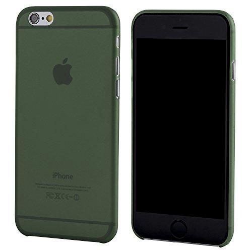 iPhone 6 Hülle, Dünnste Hülle Premium Ultradünn Leicht Schmal Minimal Anti-Kratz Schutz Case - Für Apple iPhone 6s| totallee (Rot) Grün
