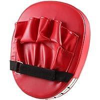 Delicacydex Almohadillas de Objetivo de puño de Mano Flexible Sanda Taekwondo Entrenamiento de pie Muay Thai MMA Boxeo de Mano Objetivo Karate Kung fu Pad