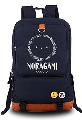 Bromeo Noragami Anime Karikatur Leuchtend Backpack Rucksack Büchertasche Schule Tasche