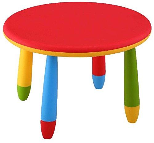 Tavoli Per Bambini In Plastica.Mueblear 90048 Tavolo Rotondo Per Bambini In Plastica 30 X 15 X