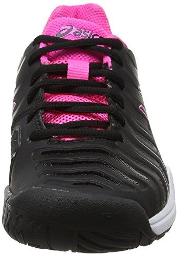 Asics Damen Gel-Challenger 11 Tennisschuhe Schwarz (Black/black/hot Pink 9090)