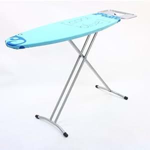 JJA 104501 Table à Repasser 110 x 38 cm avec Repose Fer - Coloris aléatoire