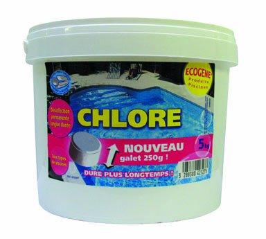 ECOGENE Chlore Tablettes 250g 5kg