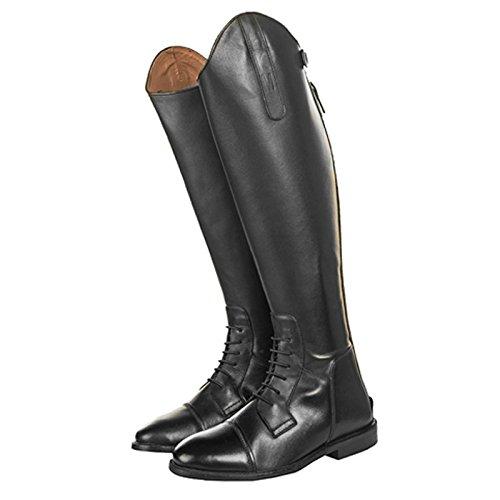 HKM Bottes d'équitation Homme Cuir Souple Spain Longueur standard/Largeur Noir - Noir