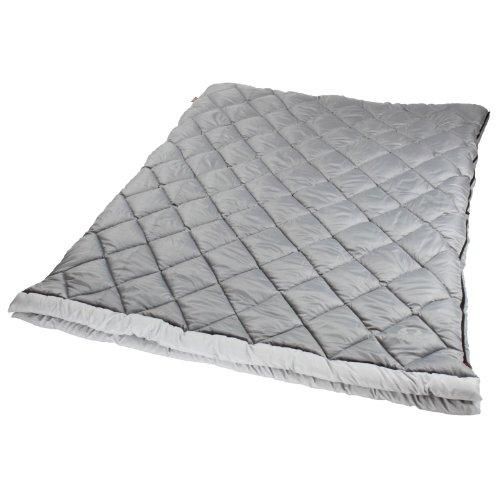 Coleman die Tandem 2Personen, rechteckig, 45Grad Schlafsack, Herren, grau -