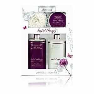 Baylis & Harding Skin Spa Herbal Therapy Geschenkset inkl. Schwamm Benefit