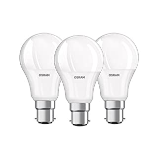 OSRAM LED BASE CLASSIC A / LED lamp, classic bulb shape, with bayonet base: B22d, 9.50 W, 220...240 V, 60 W replacement, frosted, 2700 K, 3pack (B01FR0TX7S) | Amazon Products