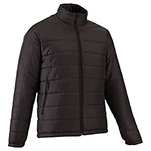 QUECHUA ARPENAZ 50 MEN'S PADDED JACKET - BLACK (XXL)